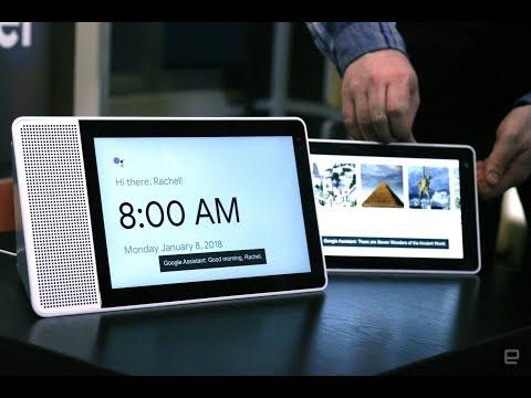 Lenovo GooGle Home Smart Display First Look.