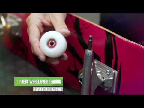 How to Install Skateboard Wheels & Skate Bearings - WarehouseSkateboards.com