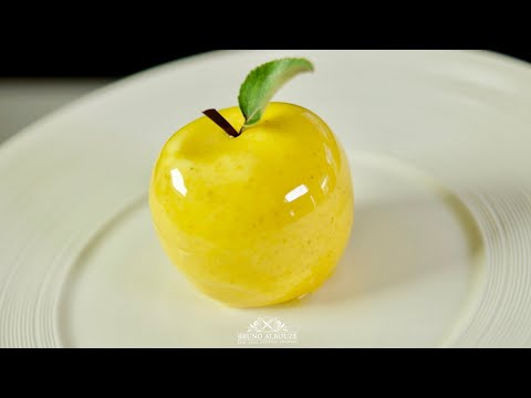 Golden Delicious Apple Shaped Dessert – Bruno Albouze – THE REAL DEAL