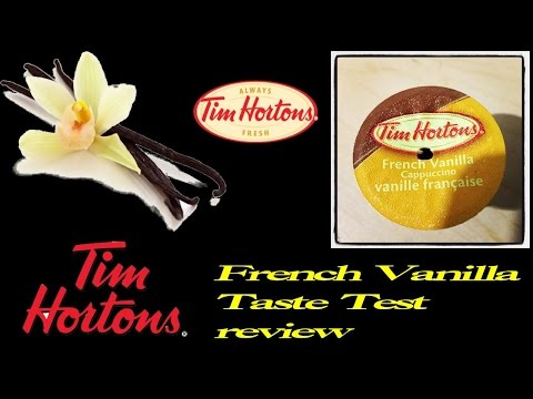 ♣Tim Horton K-Cup French Vanilla♣-Nov 28th 2014