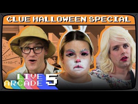 LIVE ARCADE #5 | Clue Halloween Special