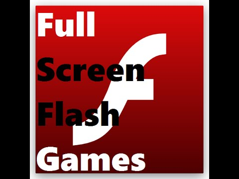 How to Play ANY Flash Game in Full Screen