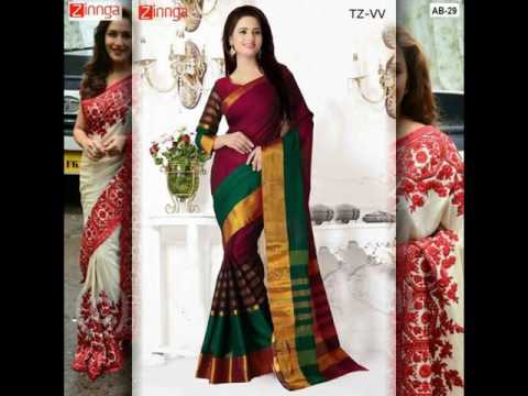Best price sarees online shopping - Zinnga