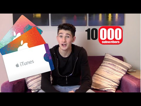 APPLE GIFT CARD GIVEAWAY | 10K Subscribers