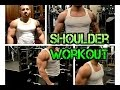 Shoulder Workout for Mass with Mostly Dumbbells 2015