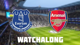 Everton vs Arsenal Live Football Watchalong Premier League With FOOTBALL STAND