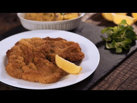 Wiener Schnitzel - 4k video