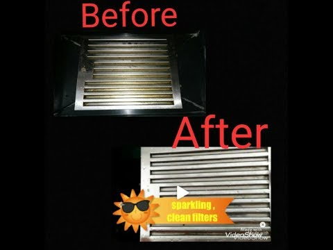 How to clean Baffle Filters of Electrical Chimney easily at home.