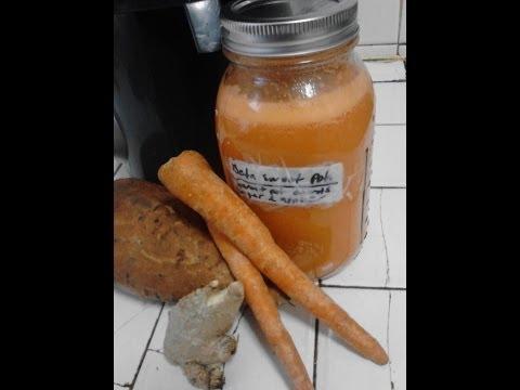 Juicing: Sweet Potato and Carrot Juice Recipe