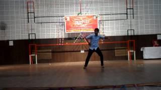 Contemporary dance on tujhe bula diya by sanchit jain in RBS