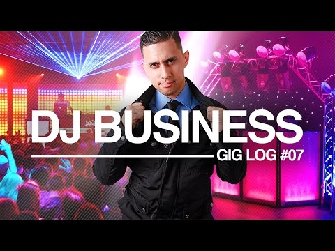 DJ GIG LOG: Birthday Party | The TRUTH about the DJ BUSINESS | Nightclub DJs Vs Mobile DJs