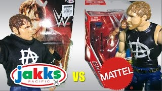 Jakks vs Mattel | Dean Ambrose WWE Figure Comparison