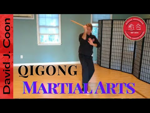 Demo of Sword, Chi Stick and Knife Flow Training