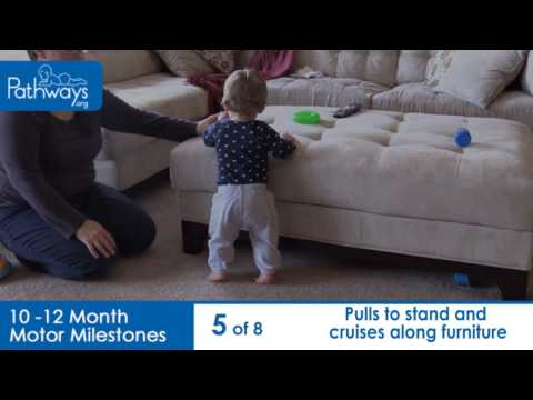 10 to 12 Month Baby Motor Milestones to Look For