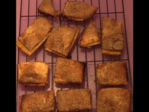 Super Easy Fruit Pie Snack Sticks