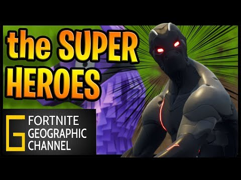 Fortnite Geographic | The Hero and the Noob | Replay mode cinematic