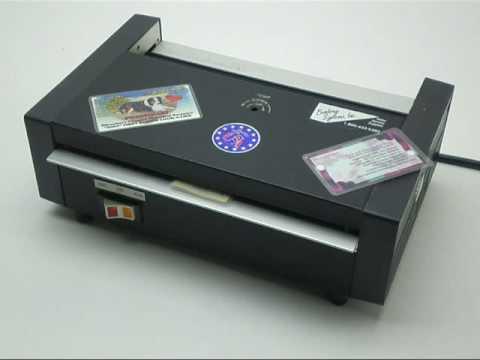 Pouch Laminator Model 6000
