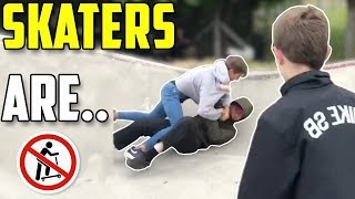 Skaters are Skaters 2019 (Skate, Skateboard, Skateboarding)