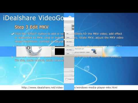 Windows Media Player Won't Play MKV Solution - Convert MKV to WMP Format