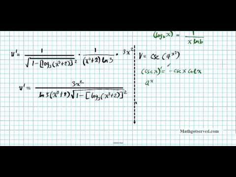 Derivatives Review Part I chapter test review Differentiation AP Calculus AB BC IB Exam