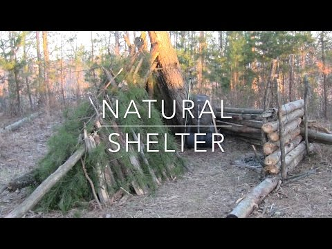 Natural Shelter - Solo Neo-Bushcraft