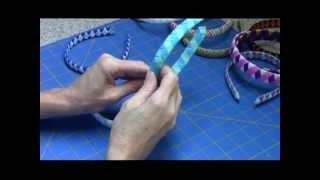 Woven Ribbon Headband Tutorial
