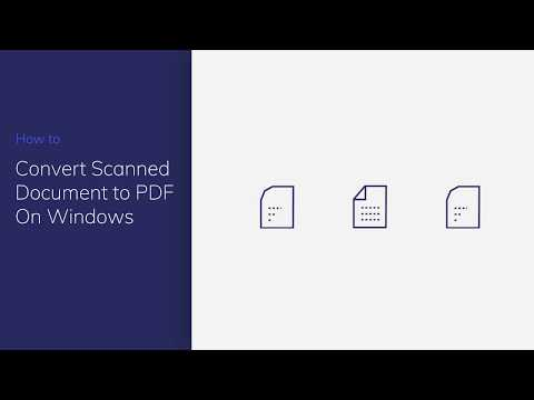 Convert Scanned Document to PDF on Windows with PDFelement