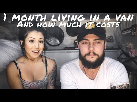 How Much 1 Month of Vanlife Costs | Van Life Budget