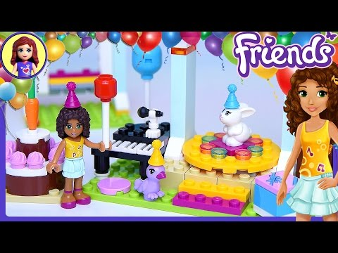 Lego Friends Birthday Party Build Review Play - Kids Toys