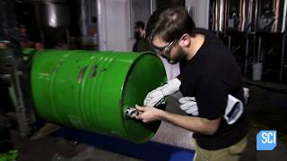 Watch Atmospheric Pressure Savagely Crush A Steel Barrel