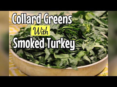 Easy Collard Greens with Smoked Turkey | Hello Sweet Biscuit
