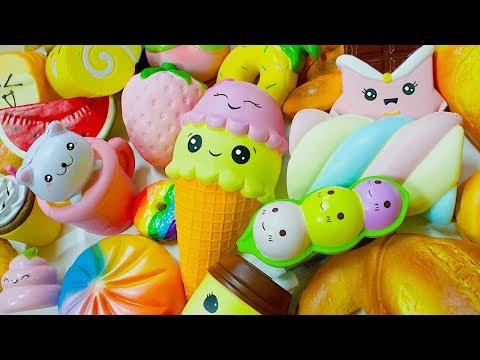 HUGE FOOD SQUISHY COLLECTION 2017