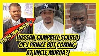 """Hassan Campbell """"NOT KEEPING THE SAME ENERGY"""" SMH !!"""