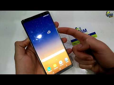 How to TAKE SCREENSHOT Samsung Galaxy NOTE 8 °SM-N950° -- GSM GUIDE