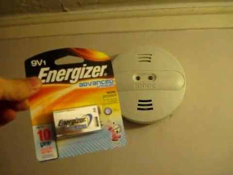 How to Change your Smoke Detector Battery: including hard wired detectors
