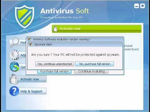 Don't Be Tricked By Antivirus Soft