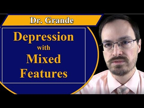 What is Major Depressive Disorder with Mixed Features?