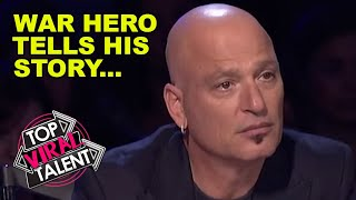 A TRUE AMERICAN HERO! Brave WAR HERO Sings In Front Of The America's Got Talent Judges
