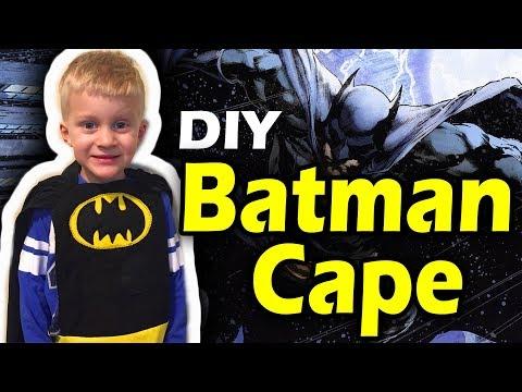 Batman Cape Tutorial
