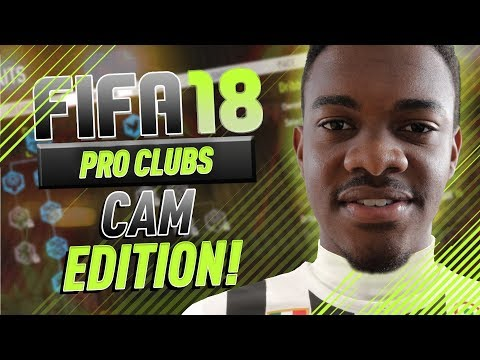 FIFA 18 Pro Clubs - Best/Most Overpowered Player Build - CAM Edition! 🔥⚽