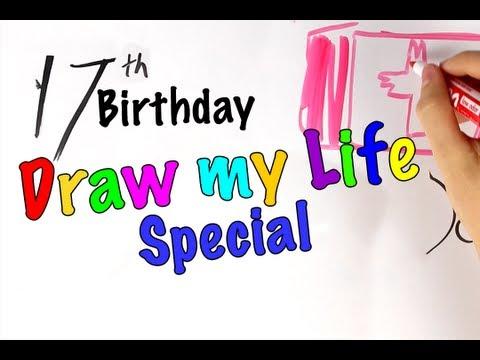 Draw My Life - Technologycrazy's 17th Birthday Special