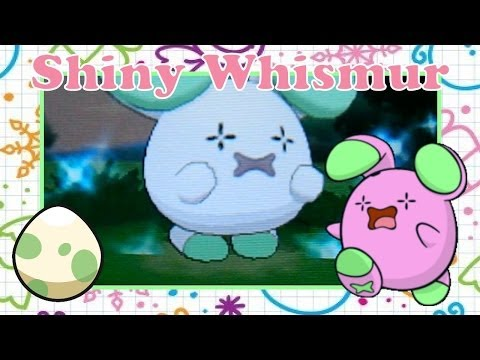 3 in 1 Day! Shiny Whismur on Pokemon X after 20 eggs!