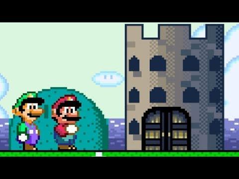 Super Mario World - All Castles