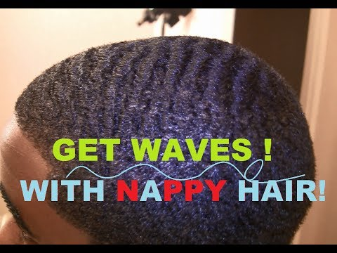 How To Get 360 Waves with Nappy Hair