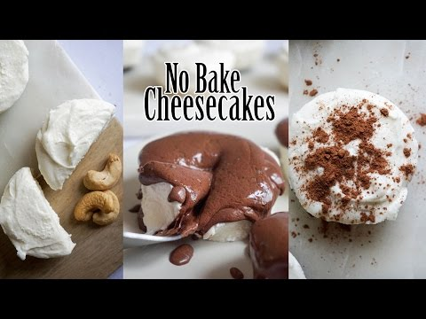 Low Carb Cheesecake | No Bake Keto Deliciousness | 3 Different Flavors!