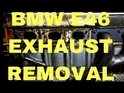 Exhaust manifold,headers BMW e46 M52TU/M54 engine