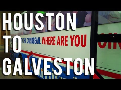 The Cheapest Way To Get From Houston To Galveston - Vacation Impossible Podcast