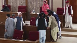 At Balochistam Assembly Budget Session Mir Khalid Khan Langove Is Fighting Baloch Case