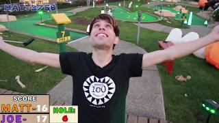 ONCE IN A LIFETIME HOLE IN ONE! HALLOWEEN MINI GOLF: LET
