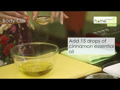 Natural Body Oil For Smooth Skin|Easy To Make Recipe: Homeveda Remedies